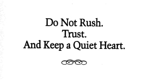 Do Not Rush 001
